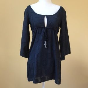 Banana Moon Surfer Navy Blue Cover Up / Top
